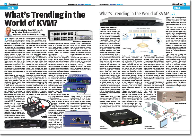 What's Trending in the World of KVM?