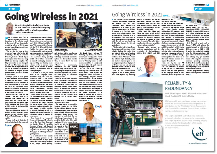 Going Wireless in 2021