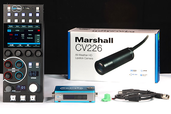 Marshall Partners with CyanView