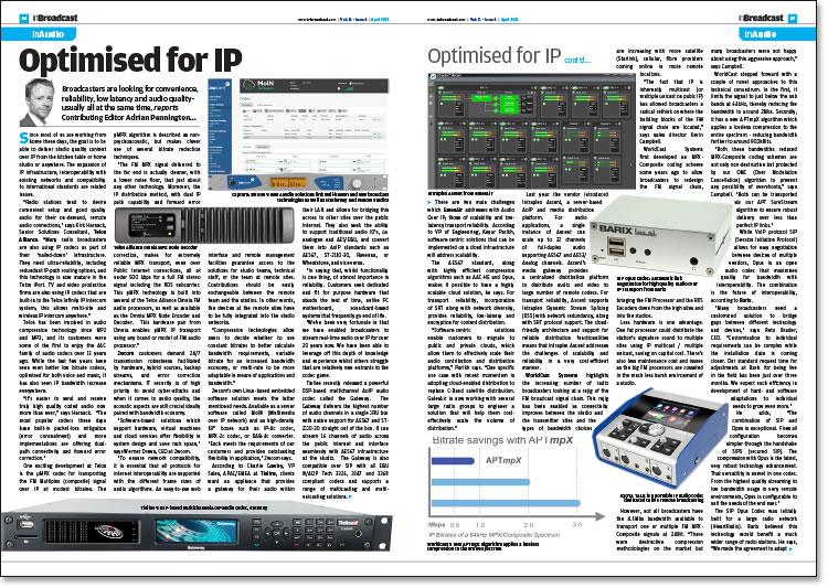 Optimised for IP