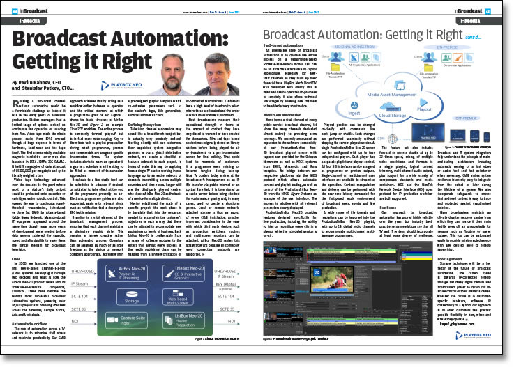 Broadcast Automation: Getting it Right