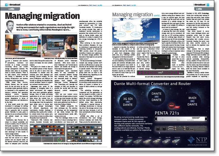 Managing migration