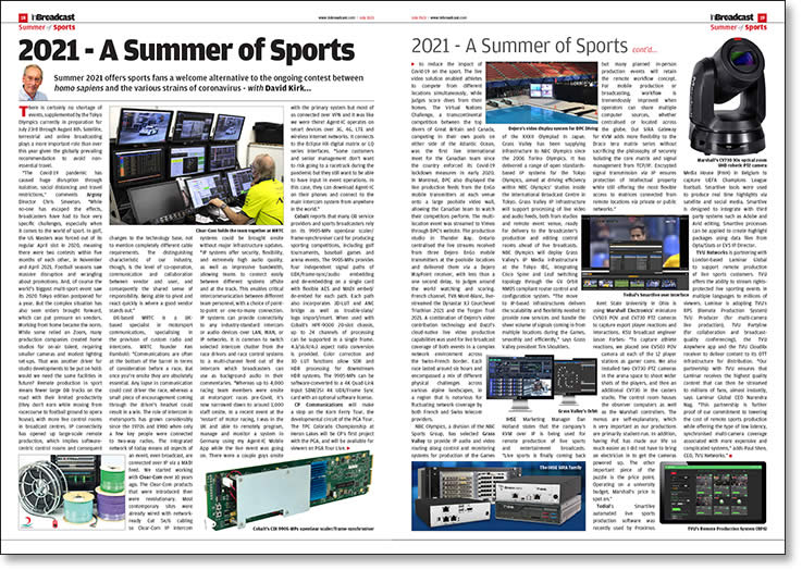 2021 - A Summer of Sports