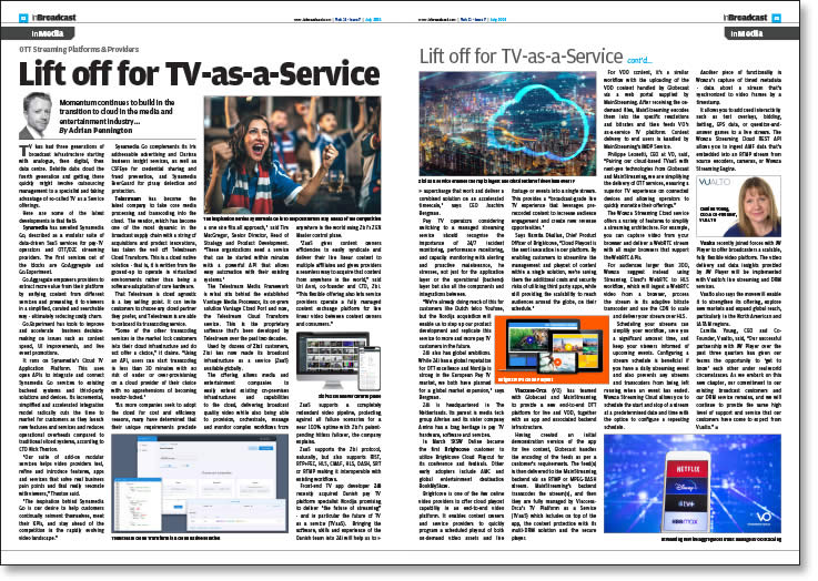 Lift off for TV-as-a-Service