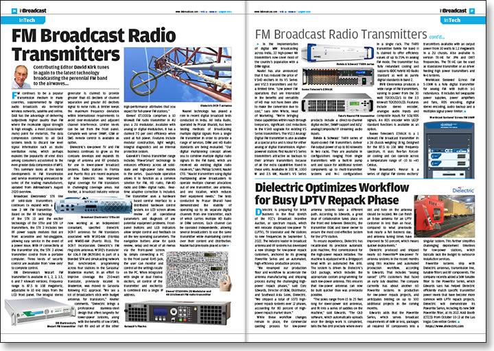 FM Broadcast Radio Transmitters