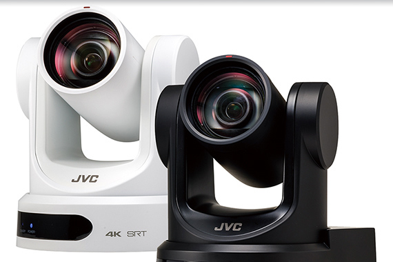 Optimal streaming from latest JVC 4K PTZ cameras