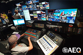Odessa Live TV Channel Deploys AEQ Intercom System