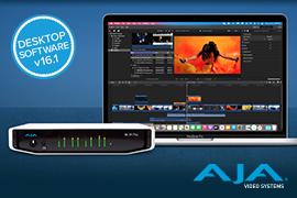New Desktop Software Update from AJA