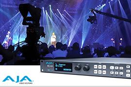 AJA FS-HDR Powers Live Production at Visual Three