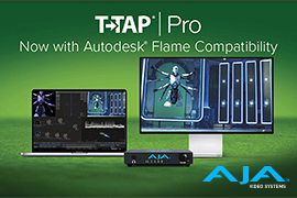AJA T-TAP Pro Compatible with Autodesk's Flame