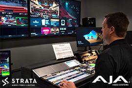 AJA Gear Helps STRATA Drive HOW AV Workflows