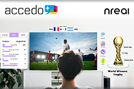 Accedo Partners with Nreal