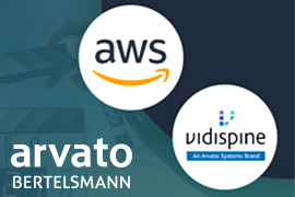 Arvato Systems Announces Vidispine Support for AWS for Media & Entertainment Initiative