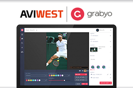 AVIWEST and Grabyo Partner to Improve Remote Multicamera Cloud Production