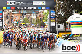 BCE live streams the 2021 UCI Road World Championships