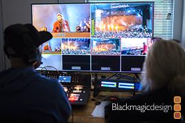 Creamfields Wows Crowds with Blackmagic Design Live ProductionWorkflow