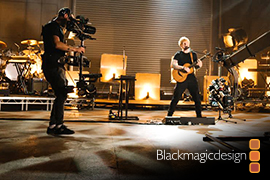 URSAMiniPro12K Captures Ed Sheeran's Bad Habits