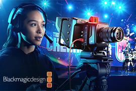 Blackmagic Design announces new Blackmagic StudioCameras