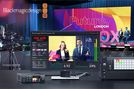 Blackmagic Design Announces New Web Presenter HD