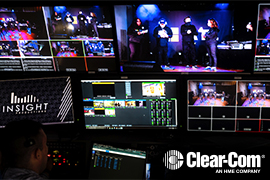 Insight Productions Stays on the Road with Clear-Com