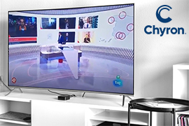 Chyron Unify Graphics Management across RTVE Set and Broadcasts