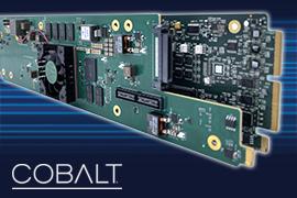 Cobalt Digital Launches INDIGO ST 2110 Series