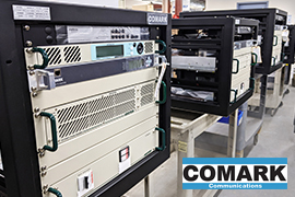 ARK Multicasting orders multiple Comark E-Compact Transmitters