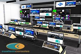 STV Chooses Custom Consoles for Studio 1 Upgrade