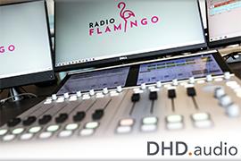 DHD.audio Consoles Go On Air at Radio Flamingo