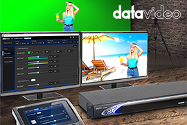 Datavideo Introduces Easy-To-Use Professional Chromakeyer Bundle