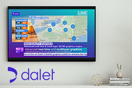 Dalet CubeNG Delivers Exceptional User Experience for News Graphics Workflows