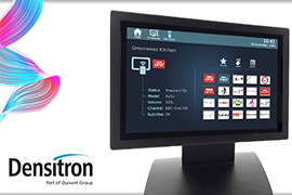 Densitron Adds New Touchscreens & Media End-Point To IDS Range