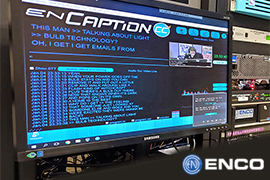 WISH-TV Expands Captioning Possibilities with ENCO's enCaption4
