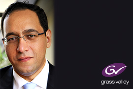 Grass Valley welcomes back Hany Bartella