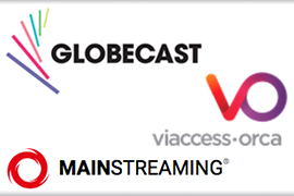 Globecast partners with Viaccess-Orca and MainStreaming