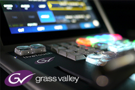 Grass Valley's LiveTouch key for Studio Berlin