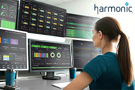 Seaside Communications Partners with Harmonic