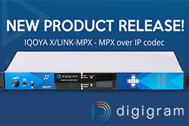 Digigram launches its new product IQOYA X/LINK MPX