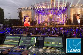 Concert de Paris Mixed with Lawo Consoles