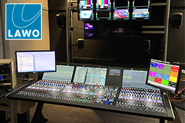 STV First UK Broadcaster to use Lawo mc²56 with latest A__UHD Core architecture