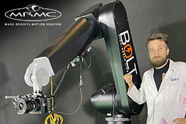 Slow Motion Sorcery: The Slow Mo Guys introduce MRMC's Bolt Cinebot