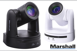 Marshall unveils CV605 entry-level PTZ Camera