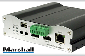 Marshall high resolution Encoder/Decoder upgrade goes the distance for KVVB-TV