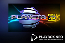 Planeta TV Advances to 4K UHD with PlayBox Neo