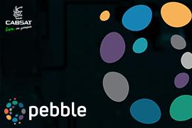 Pebble Showcasing at CABSAT 2021