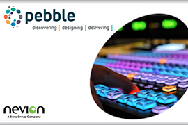 Pebble and Nevion announce new integration