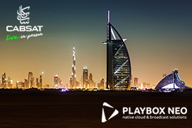 PlayBox Neo Showcasing at CABSAT 2021