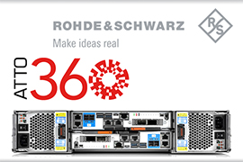 Rohde & Schwarz and ATTO Partner to Optimize Ethernet Adapter Capabilities