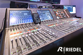 Riedel Technology a Game-Changer for Crealine's Live Productions