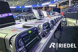 Riedel Propels Dodd Technologies U.S. Swim Trials